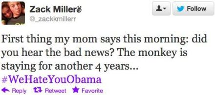 My mom is a bigot. Yay!
